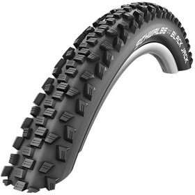 "SCHWALBE Black Jack Wired-on Tire 16"" KevlarGuard black"